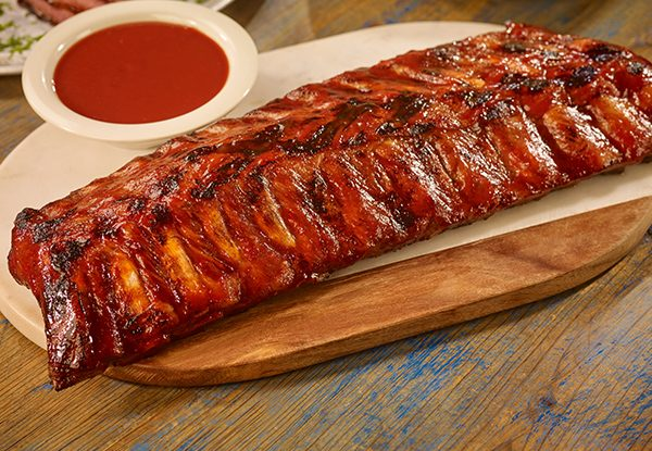 Baby Back Ribs Stonefire Grill