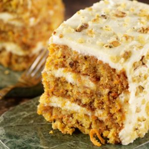 Our Incredible Carrot Cake
