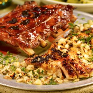 Boneless Chicken Breast & Ribs