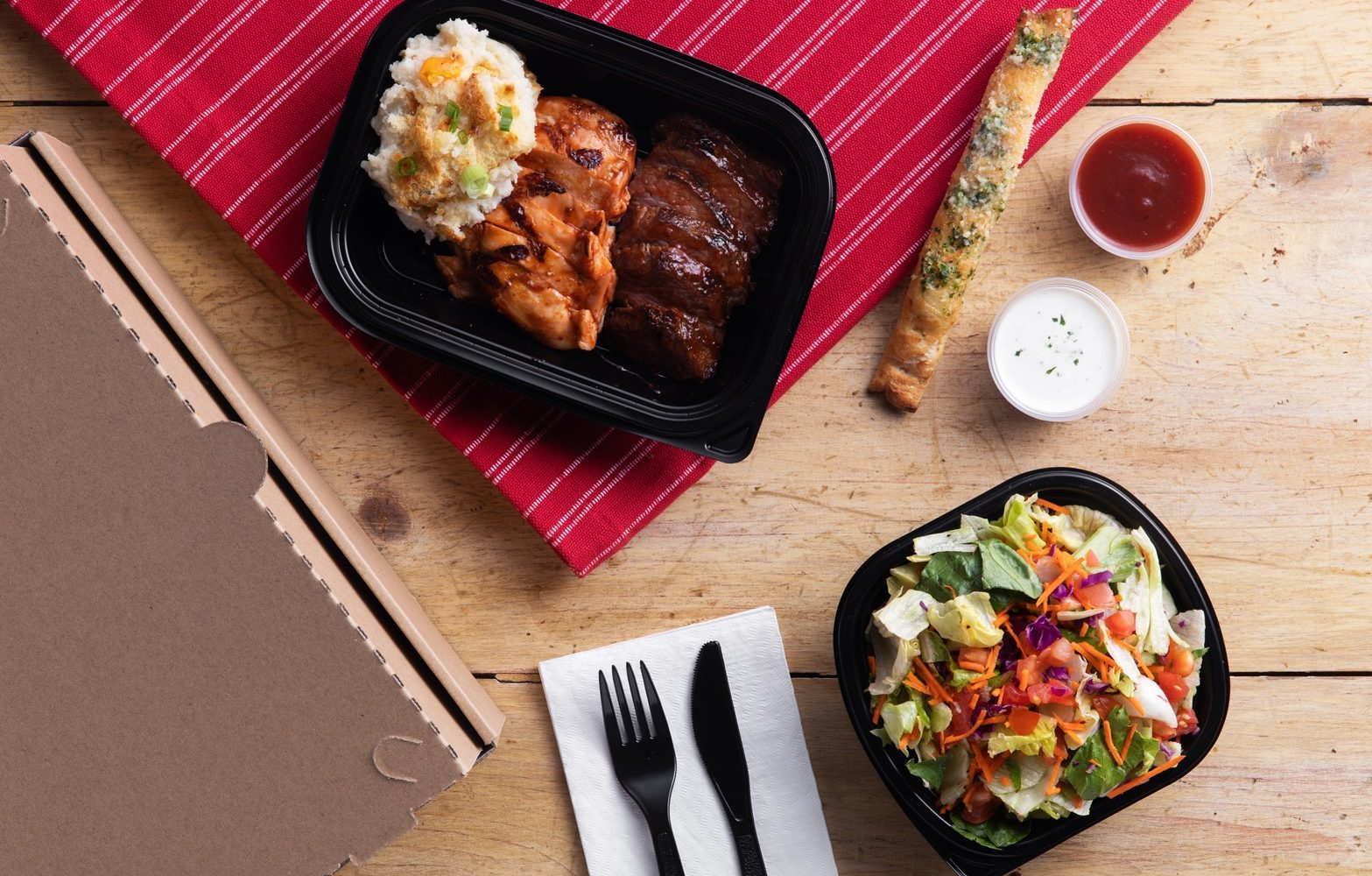 Boxed Meal Catering is here